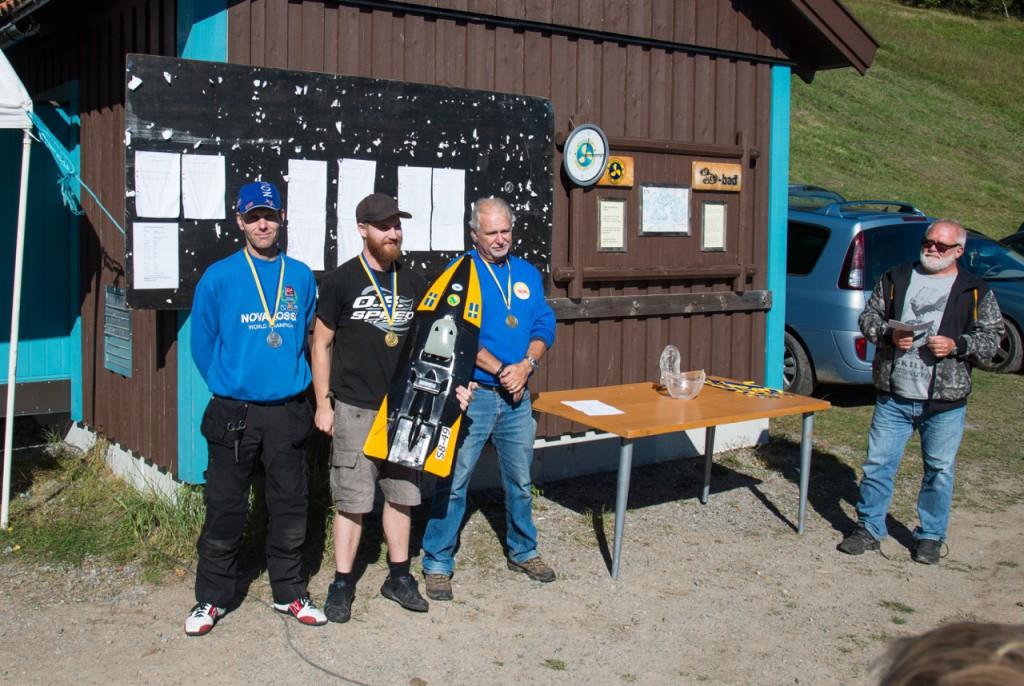 1. Fredrik Svensson, HMBK - 38p. 2. Lennart Jerksten, ERCK - 25p. 3. Staffan Zetterlund, HMBK - 24p.