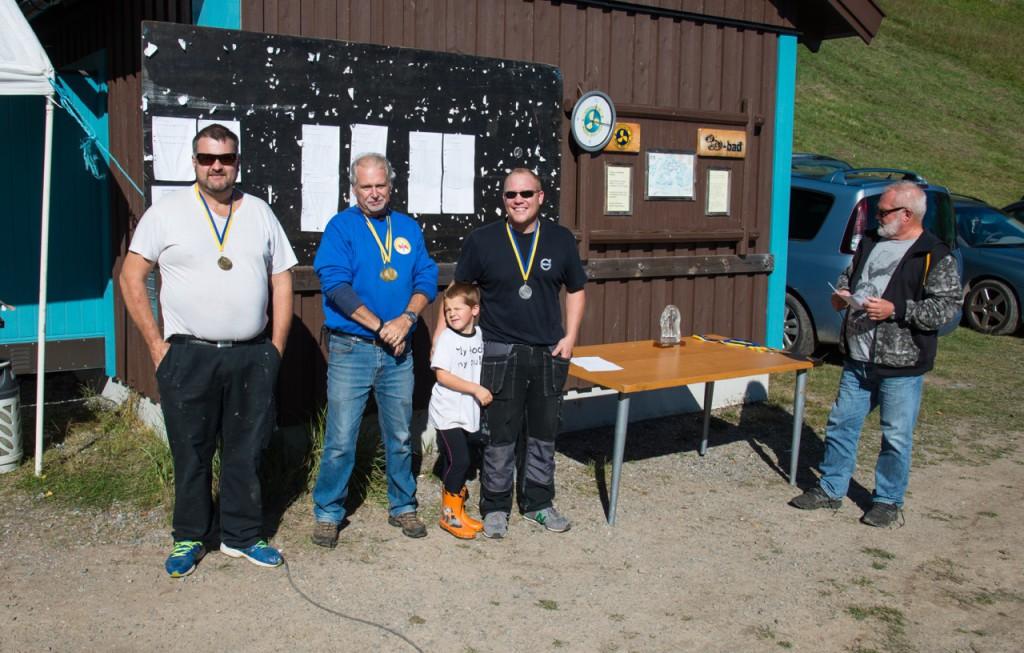 1. Lennart Jerksten, ERCK - 37p. 2. Robert Andersson, LMBK - 15p. 3. Anders Stenström, ERCK - 14p.