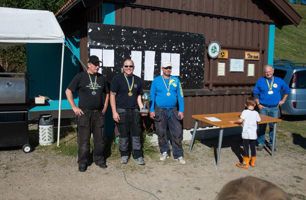 1. Robert Andersson, LMBK - 32p. 2. Joachim Hallin, HMBK - 30p. 3. Per Nilsson, HMBK - 27p.